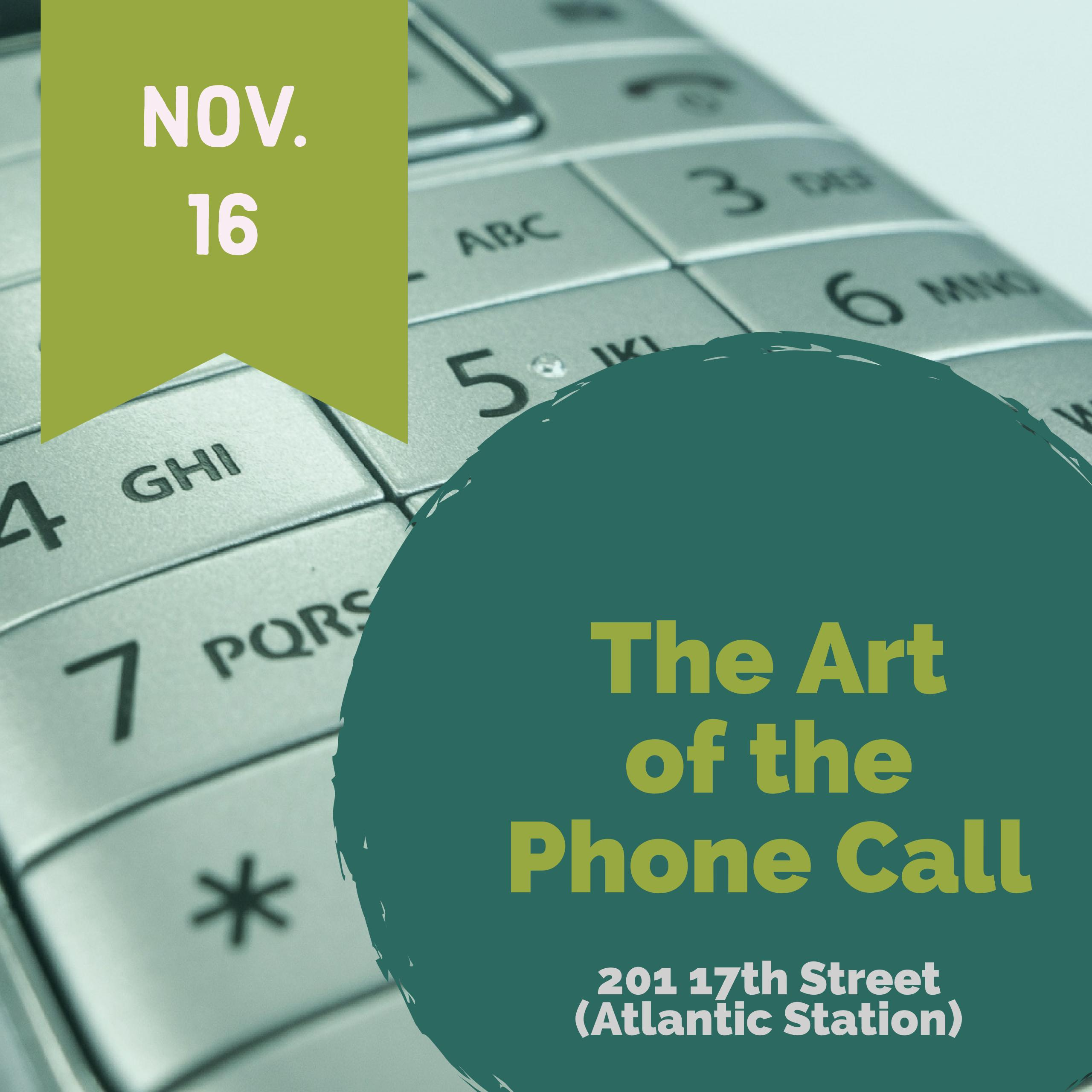 The Art of the Phone Call - YP Lunch and Learn