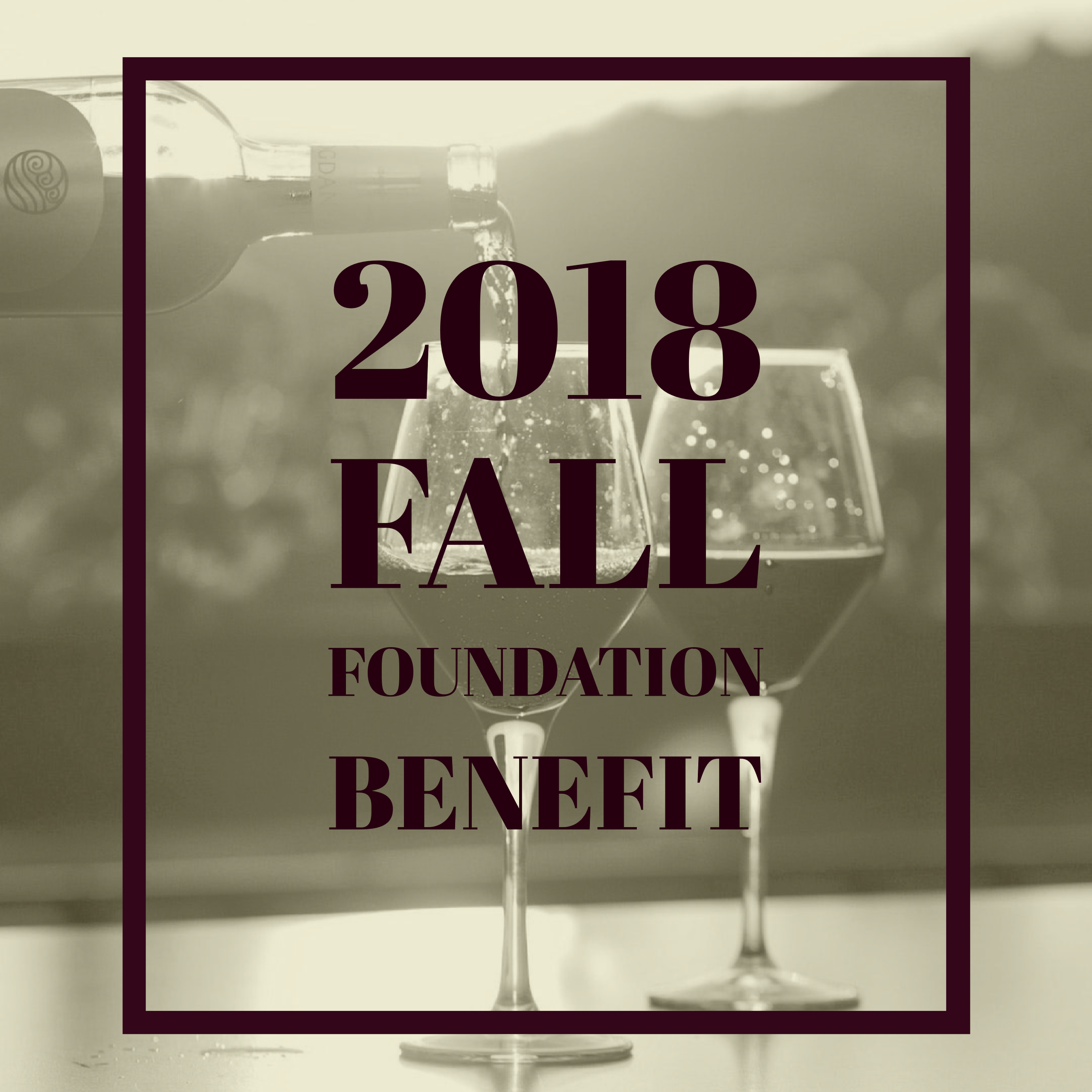 Fall Foundation Benefit