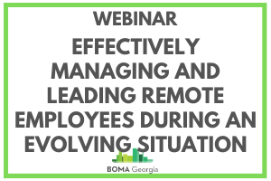 Webinar: Effectively Managing and Leading Remote Employees